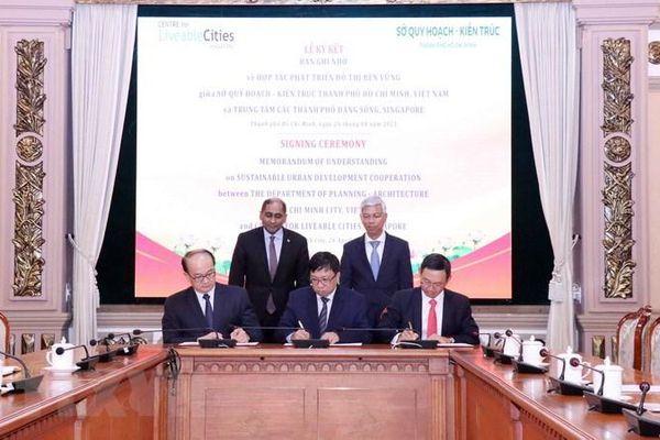TP Hồ Chí Minh và Singapore hợp tác phát triển quy hoạch đô thị
