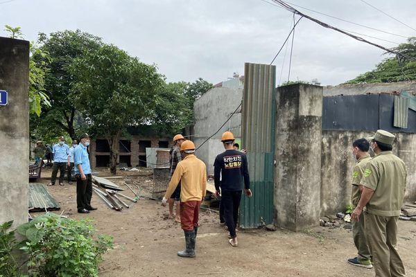 Đảm bảo mặt bằng 'sạch' phục vụ dự án Xây dựng hạ tầng kỹ thuật khu tái định cư tại các phường Ngọc Thụy, Thượng Thanh