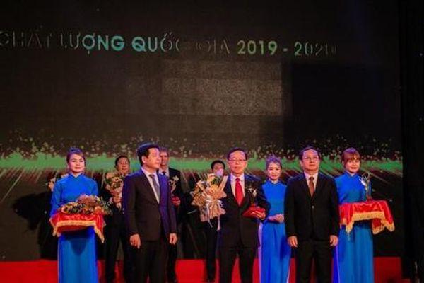 C.P. Việt Nam đạt Giải Vàng Chất lượng Quốc gia năm 2020