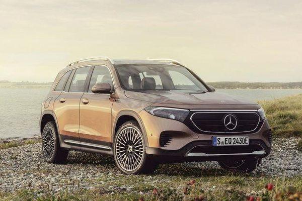SUV thuần điện Mercedes EQB chính thức ra mắt