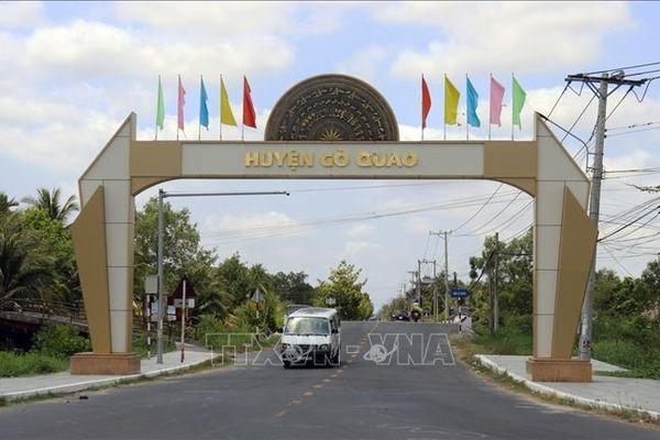 Công bố huyện Gò Quao (Kiên Giang) đạt chuẩn nông thôn mới
