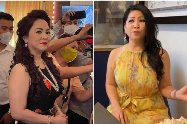 Bị Hoa hậu 'tra google nhưng không có tên' chấm 4 điểm nhan sắc, bà Nguyễn Phương Hằng gay gắt 'đáp trả'