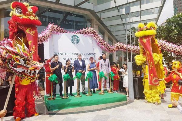 Cà phê Starbucks chính thức có mặt tại Nha Trang