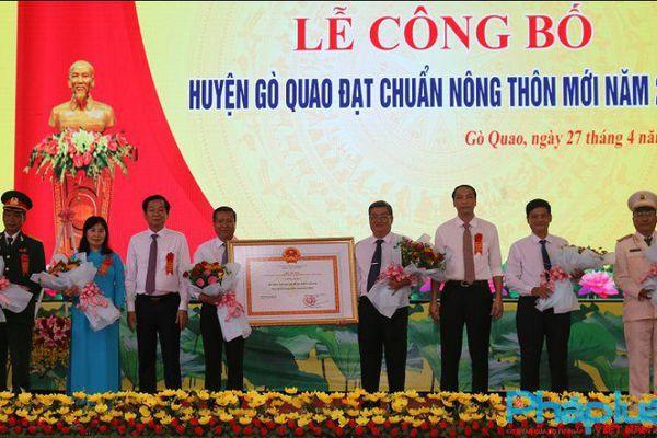 Kỳ vọng Gò Quao là một trong những địa phương đầu tiên của tỉnh Kiên Giang đạt tiêu chí huyện nông thôn mới nâng cao