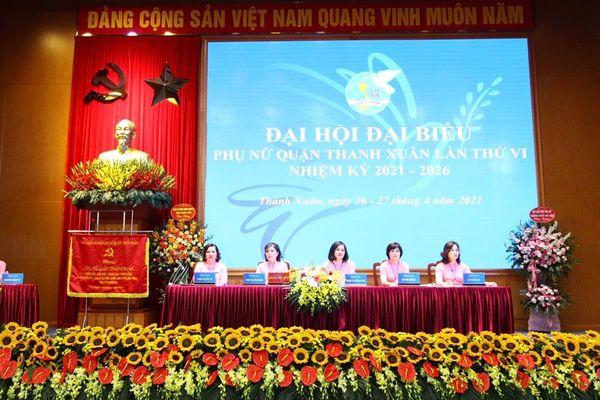 Đồng chí Trịnh Thị Hồng Thủy tái đắc cử Chủ tịch Hội LHPN quận Thanh Xuân