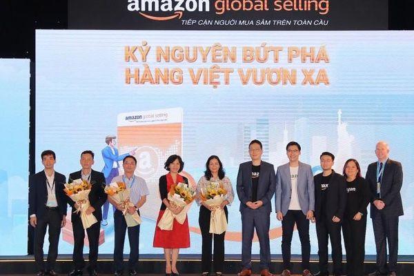 'Chắp cánh' cho hàng Việt ra thế giới qua nền tảng Amazon