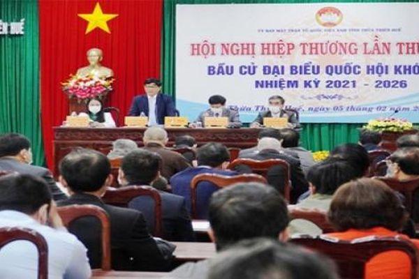 Danh sách 13 ứng viên đại biểu Quốc hội tại Thừa Thiên - Huế