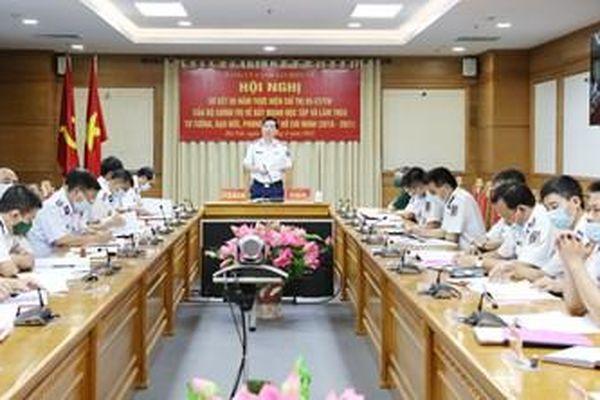 Đảng ủy Cảnh sát biển Việt Nam sơ kết 5 năm thực hiện Chỉ thị 05/CT-TW