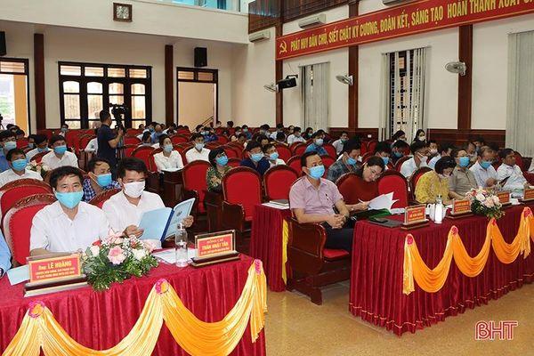 Cẩm Xuyên hoàn thành 9/9 tiêu chí huyện nông thôn mới