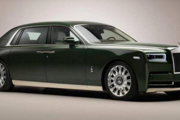 Cận cảnh Rolls-Royce Phantom Oribe 2021 dành riêng cho tỷ phú