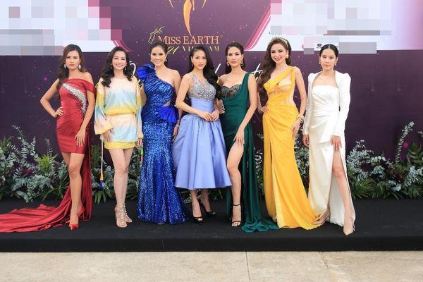 7 đại diện Miss Earth trên một thảm đỏ: Nam Em vẫn tươi tắn dù đang có vấn đề sức khỏe