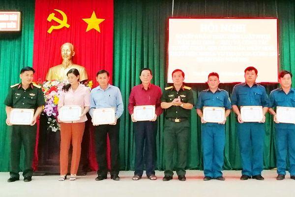 Tịnh Biên sơ kết công tác tuyển chọn công dân nhập ngũ và tham gia nghĩa vụ Công an nhân dân