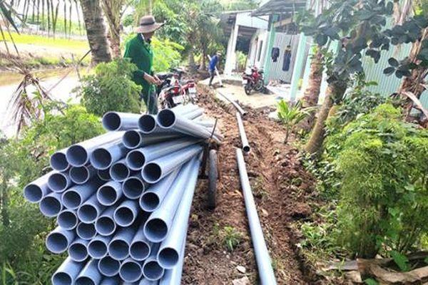 Tăng khả năng cấp nước sạch phục vụ người dân tại Ô Môn