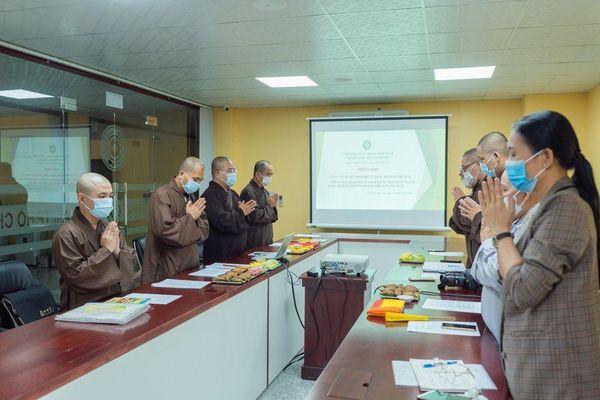 Thường trực Ban Thông tin - Truyền thông Phật giáo TP.HCM họp, thảo luận hoạt động