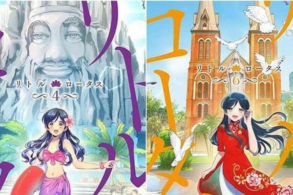 Ngắm những địa danh thân thuộc của Việt Nam qua bộ truyện tranh Nhật Bản 'Little Lotus'