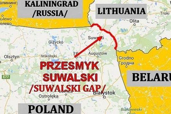 Mỹ-Phương Tây: Nga xé đôi NATO bằng 'Hành lang Suwalki'