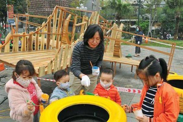 'Giải cứu' trẻ em khỏi những bức tường bê tông