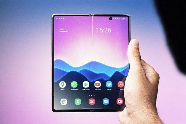 Háo hức chờ Samsung Galaxy Z Fold Tab 2 màn hình gập
