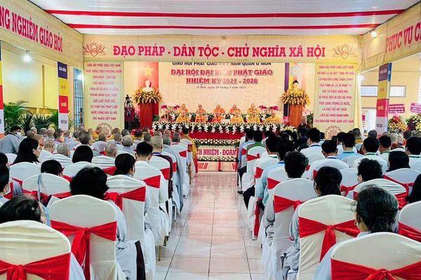 TP.Cần Thơ: Đại đức Thích Giác Tâm làm Trưởng ban Trị sự quận Ô Môn