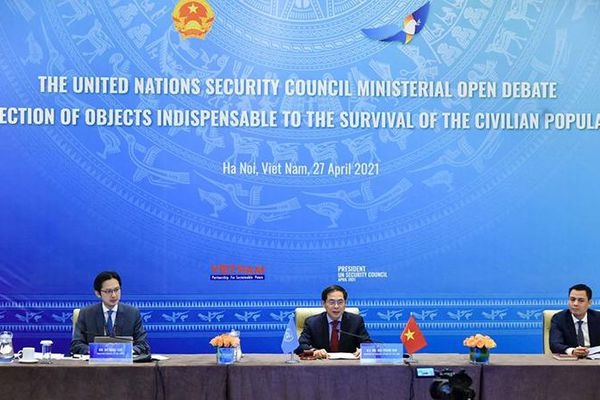 Thúc đẩy đối thoại, đoàn kết và đồng thuận vì hòa bình, an ninh quốc tế