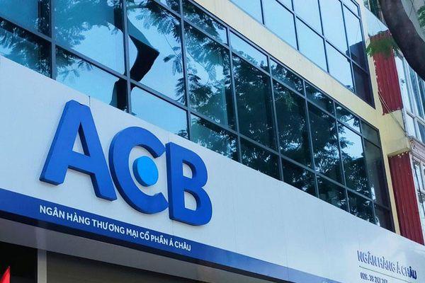 Chuyển quyền sở hữu hơn 1,1 triệu cổ phiếu ACB