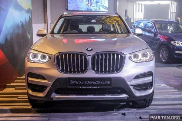 BMW X3 2021 'uống' 7,1 lít xăng/100km, từ 1,5 tỷ đồng tại Malaysia