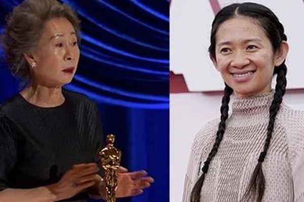 Hai người phụ nữ Châu Á làm nên lịch sử Oscar 2021