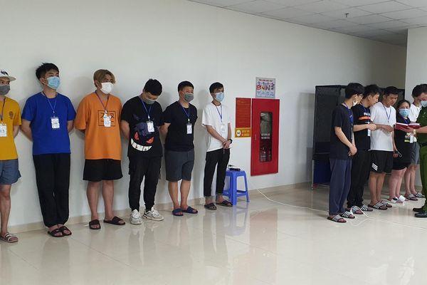 Cận cảnh vụ 46 đối tượng người Trung Quốc nhập cảnh trái phép, thuê chung cư trên địa bàn quận Nam Từ Liêm