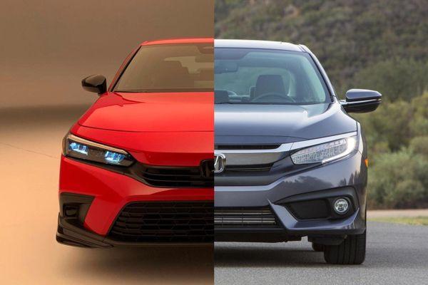 Honda Civic 2022 nâng cấp gì so với thế hệ cũ?