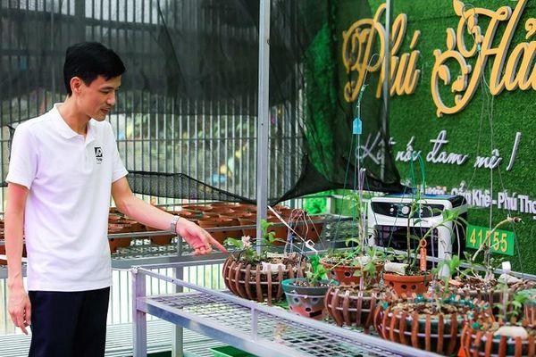 Có gì bên trong vườn lan đột biến được định giá gần 100 tỷ đồng ở Phú Thọ?