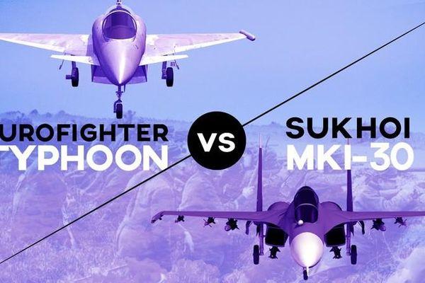 Tiêm kích Typhoon của châu Âu có đủ sức đối đầu Su-27 Nga?