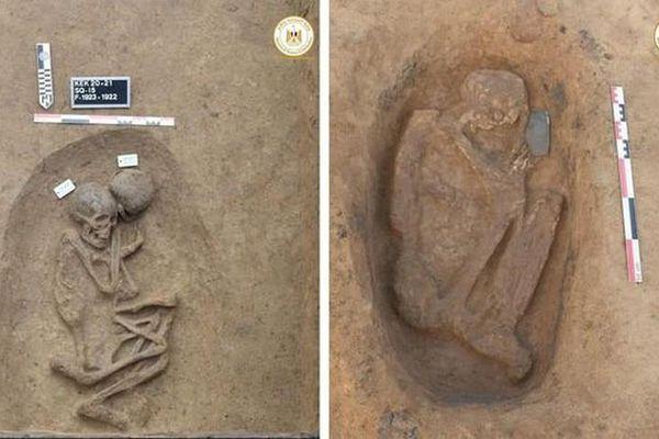 110 ngôi mộ của Ai Cập cổ đại được khai quật ở đồng bằng sông Nile