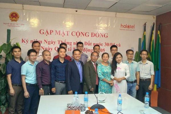 Đại sứ quán Việt Nam tại Tanzania tổ chức gặp gỡ nhân dịp kỷ niệm ngày 30/4 và 1/5