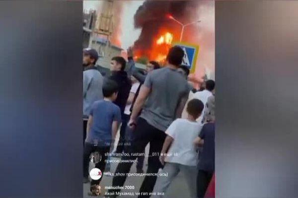 Nổ lớn tại trạm xăng ở Tajikistan, 29 người bị thương