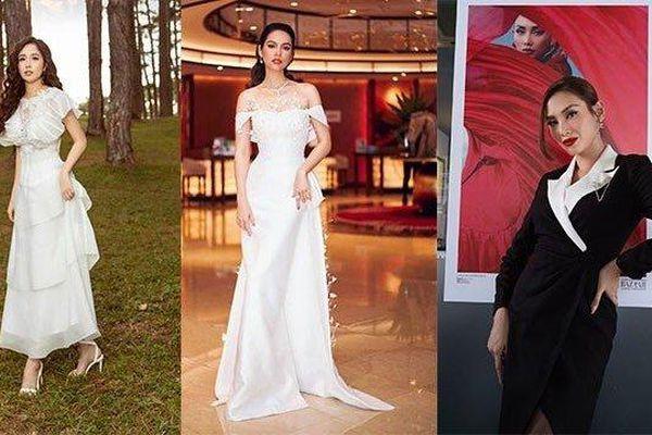 Sao đẹp cuối tuần: Mai Phương Thúy, Hoàng My yêu kiều với váy trắng