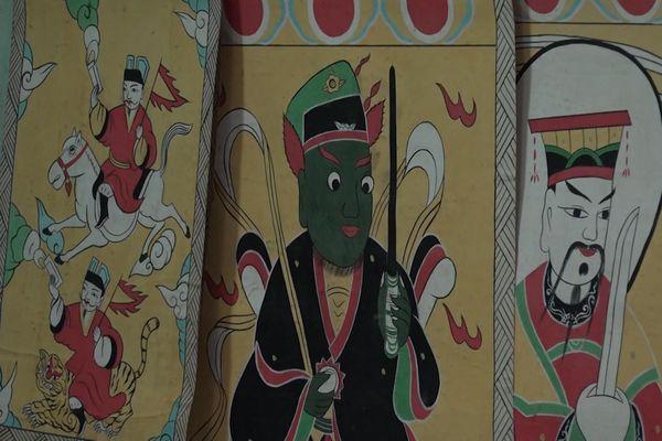 Tranh thờ của người Dao Quảng Ninh