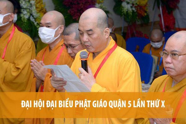 Đại hội đại biểu Phật giáo quận 5 lần thứ X