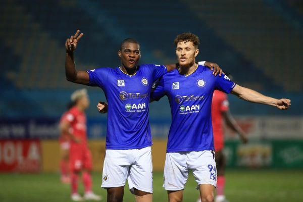 Đánh bại Sài Gòn FC, Hà Nội FC nuôi hy vọng vào tốp 6
