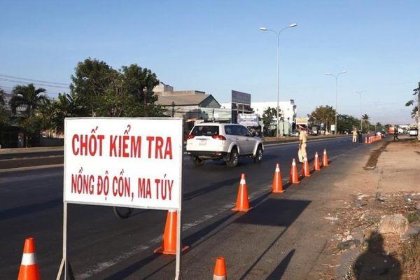CSGT Bình Thuận công khai 3 tổ tuần tra 69 km trên quốc lộ 1A