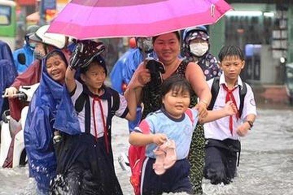 TP.HCM có mưa diện rộng từ ngày 6/5