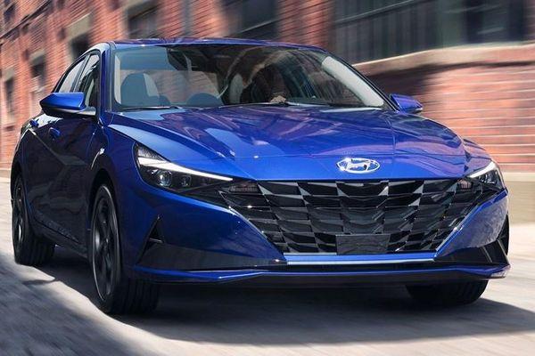 Hyundai Elantra 2021 có thêm phiên bản mới tại Malaysia