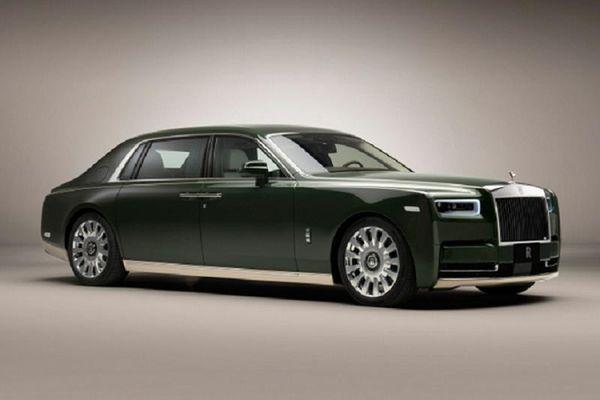 Ngắm Rolls-Royce Phantom Oribe siêu sang của tỷ phú Nhật Bản