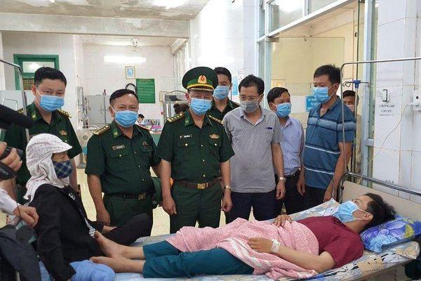 Quảng Trị: Tuần tra phòng, chống dịch Covid-19, 1 chiến sĩ bị rắn cắn nhập viện