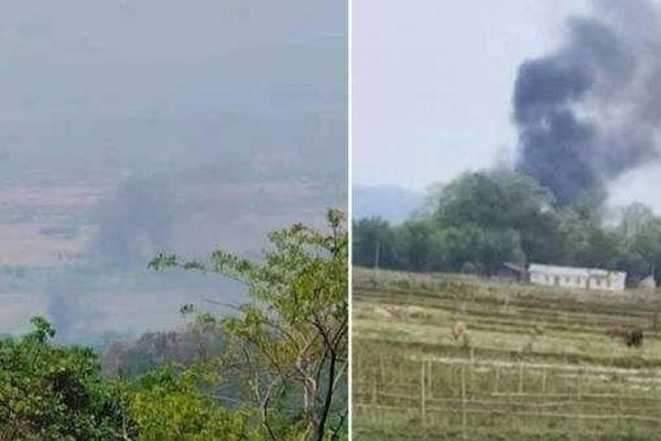 Phiến quân bắn hạ trực thăng của quân đội Myanmar