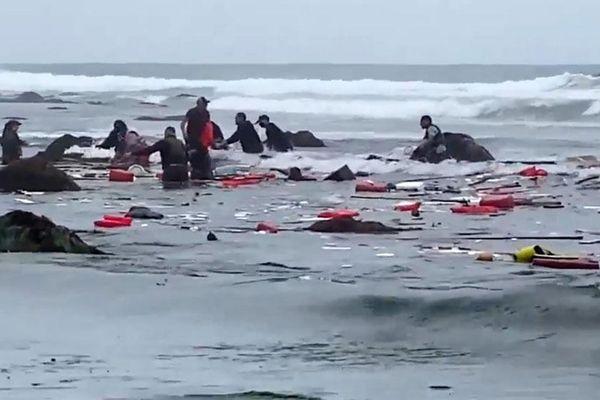 Lật tàu ở San Diego (Mỹ) gây nhiều thương vong