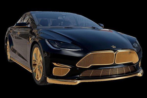 Chiếc xe đắt nhất của Tesla sẽ được mạ vàng, giá ngang siêu xe