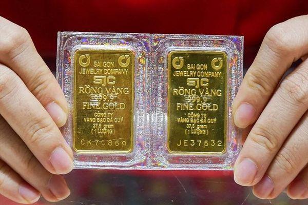 Giá vàng củng cố quanh ngưỡng 55,8 triệu đồng/lượng