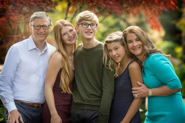 Ba người con của Bill Gates