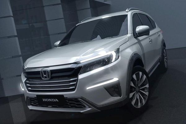 Honda ra mắt xe 7 chỗ cạnh tranh với Mitsubishi Xpander