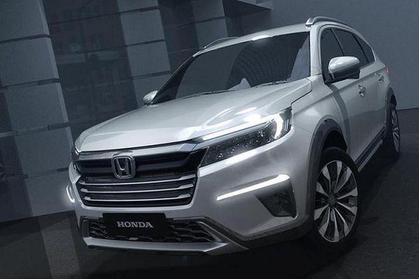 Vén màn N7X - lộ diện MPV lai SUV Honda BR-V thế hệ mới